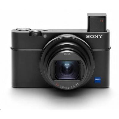 SONY DSC-RX100 VII Cyber-Shot 20,2 MPix, 8x zoom - černý