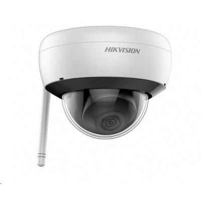 HIKVISION IP kamera 4Mpix, 20sn/s, obj.2,8mm (110°), IR 30m, DC 12V, Wi-Fi, audio, microSD slot, H.264(+),H.265(+), IP66
