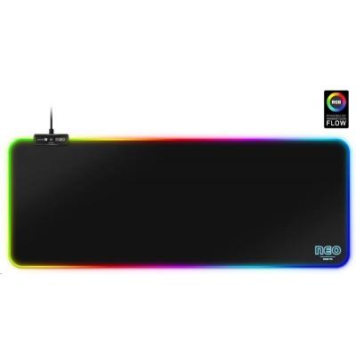 CONNECT IT NEO RGB podložka pod myš a klávesnici, vel. L (800 × 300 mm)