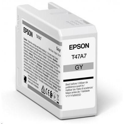 EPSON ink Singlepack Gray T47A7 UltraChrome Pro 10 ink 50ml