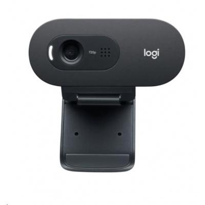 Logitech HD Webcam C505, HD 720p