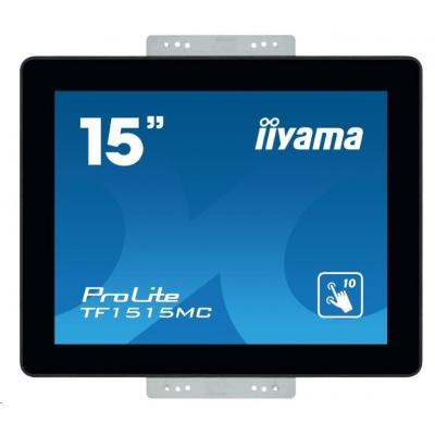 iiyama ProLite TF1515MC-B2, 38.1 cm (15''), Projected Capacitive, 10 TP, black