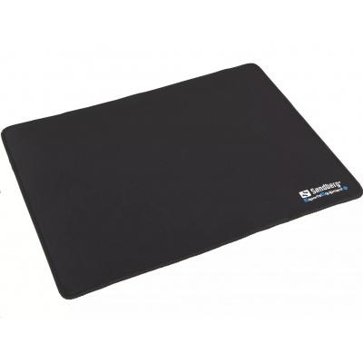 Sandberg podložka pod myš, 32 x 24 cm, černá
