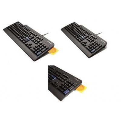 LENOVO klávesnica drátová USB Smartcard Keyboard SK - USB, čierná