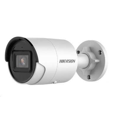 HIKVISION IP kamera 4Mpix, AcuSense, H.265, 25 sn/s, obj. 2,8 mm (100°), PoE, IR 30m, IR-cut, WDR 120dB, 3DNR, MicroSDX