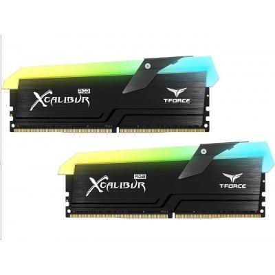 DIMM DDR4 16GB 4000MHz, CL18, (KIT 2x8GB), T-FORCE XCalibur RGB (Black)