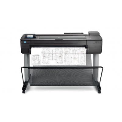 """HP DesignJet T730 36"""" Printer (A0+, USB 2.0, Ethernet, Wi-Fi)"""