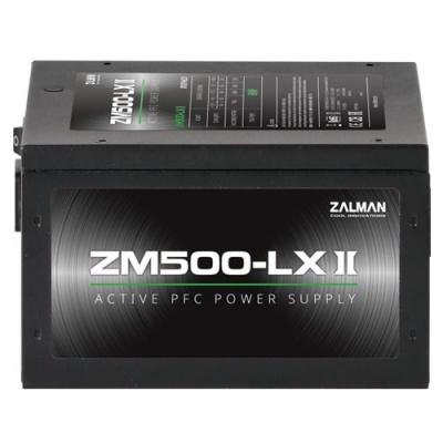 ZALMAN ZM500-LXII, zdroj 500W eff. 85%