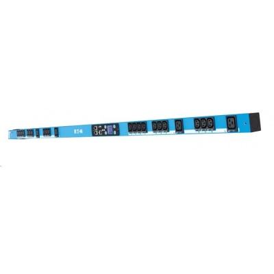 Eaton rozvodný panel EPDU BA 0U, (309 32A 1P)20xC13:4xC19, modrý