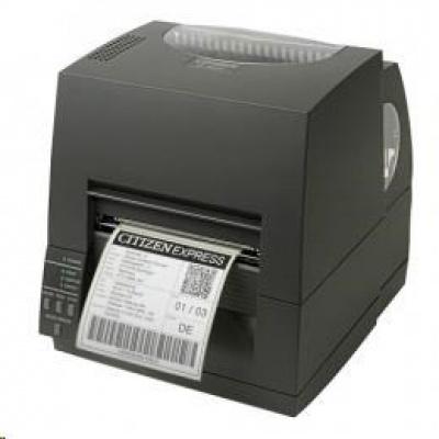 Citizen CL-S631II, 12 dots/mm (300 dpi), EPL, ZPL, Datamax, multi-IF (Ethernet), black