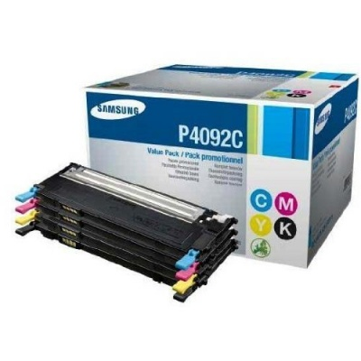 Samsung CLT-P4092C 4-pk CYMK Toner Cr