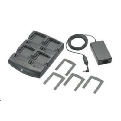 Motorola nabíjecí stojánek pro 4 akumulátory pro MC32xx + adapter
