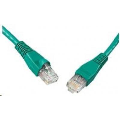 Solarix Patch kabel CAT6 UTP PVC 2m zelený snag-proof C6-114GR-2MB