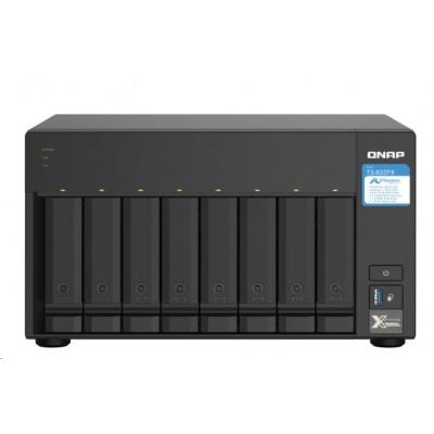 QNAP TS-832PX-4G (4C/Cortex A57/1,7GHz/4GBRAM/8xSATA/2xSFP+/2x2,5GbE/3xUSB3.0/1xPCIe)