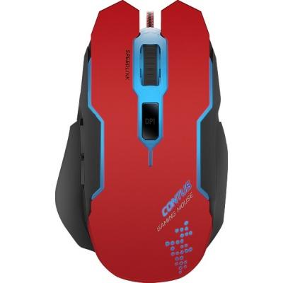 SPEED LINK herní myš SL-680002-BKRD CONTUS Gaming Mouse, 3200 dpi,black-red