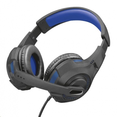 Trust sluchátka s mikrofonem GXT 307B Ravu Gaming Headset for PS4 - blue