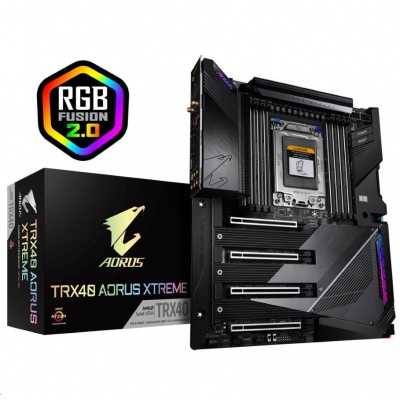 GIGABYTE MB TRX40 AORUS XTREME (rev. 1.0), AMD sTRX4, 8xDDR4, XL-ATX, WI-FI