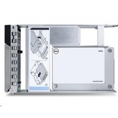 NPOS - 480GB SSD SATA ReadIntensive 6Gbps 512e 2.5in Hot-plug 3.5in HYB CARR CK, R240,R340,R440,R540, R640, R740