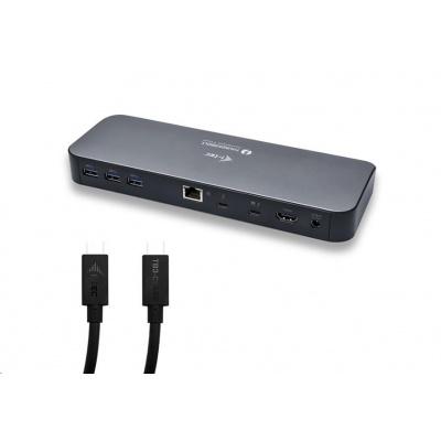 iTec USB 3.0 Thunderbolt 3 Docking Station + 2 TB3 kabely