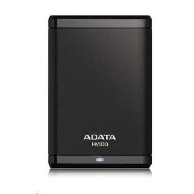 """ADATA Externí HDD 2TB 2,5"""" USB 3.0 DashDrive HV100, G-sensor, černý"""