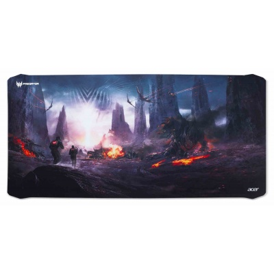 ACER PREDATOR MOUSE PAD, XXL SIZE, WITH GORGE BATTLE, RETAIL PACK