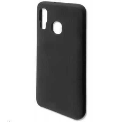 4smarts silikonový kryt CUPERTINO pro Samsung Galaxy A40 (A405), černá