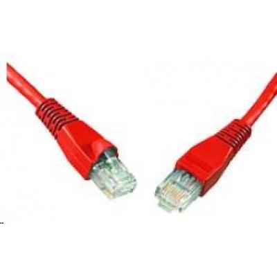 Solarix Patch kabel CAT6 UTP PVC 3m červený snag-proof C6-114RD-3MB
