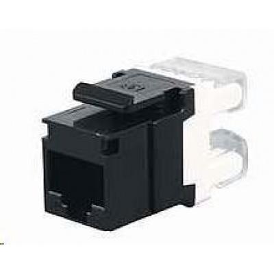 Solarix Zařezávací keystone CAT5E UTP RJ45 černý SXKJ-5E-UTP-BK