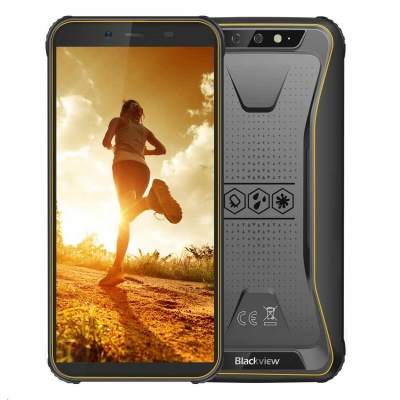 iGET Blackview GBV5500 Plus Yellow, Dual SIM, IP68, Yellow