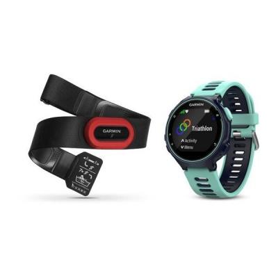 Garmin GPS sportovní hodinky Forerunner 735XT Run Bundle Blue