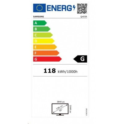 "SMART Signage LED QH55R 55"" LH55QHREBGCXEN"