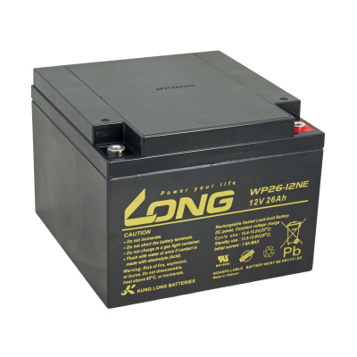 LONG baterie 12V 26Ah M5 DeepCycle (WP26-12NE)