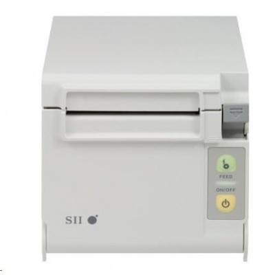Seiko pokladní tiskárna RP-D10, řezačka, Horní/Přední výstup, RS232, bílá, zdroj