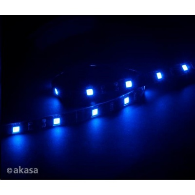 AKASA LED pásek Vegas M, magnetický, 50cm, modrý