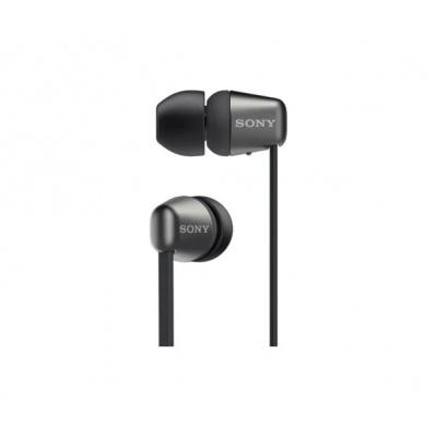 SONY bezdrátová stereo sluchátka WI-C310, černá
