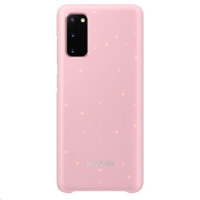 Samsung kryt LED EF-KG980CPE pro Galaxy S20, růžová