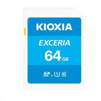 KIOXIA Exceria SD card 64GB N203, UHS-I U1 Class 10
