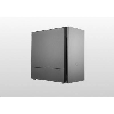 Cooler Master case Silencio S400 Steel, micro-ATX, Mini Tower, černá,  bez zdroje