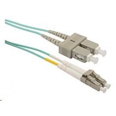 Solarix Patch kabel 50/125 LCupc/SCupc MM OM3 2m duplex SXPC-LC/SC-UPC-OM3-2M-D