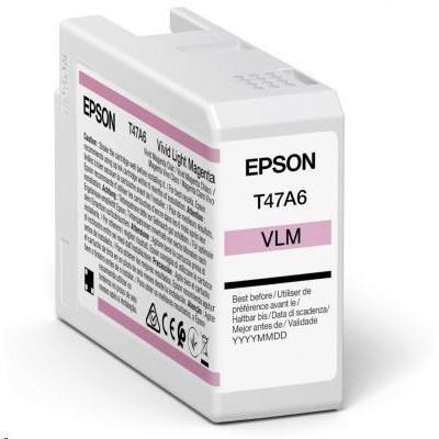 EPSON ink Singlepack Vivid Light Magenta T47A6 UltraChrome Pro 10 ink 50ml