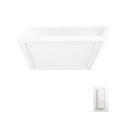 PHILIPS Aurelle Světelný stropní panel, čtverc, Hue White ambiance, 230V, 28W integr.LED, Bílá
