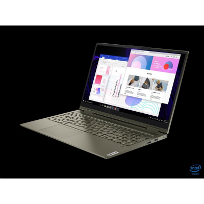"""LENOVO NTB Yoga 7 15ITL5 15.6""""FHD touch I5-1135G7 2.4Ghz 16GB 1TB SSD INT.GR S. Dark Moss WH10 2r premium onsite"""