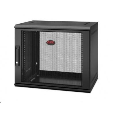 APC NetShelter WX 9U Single Hinged Wall-mount Enclosure 400mm Deep