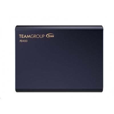 Team external SSD 240GB PD400 (R:430, W:420 MB/s) USB 3.1, Navy blue