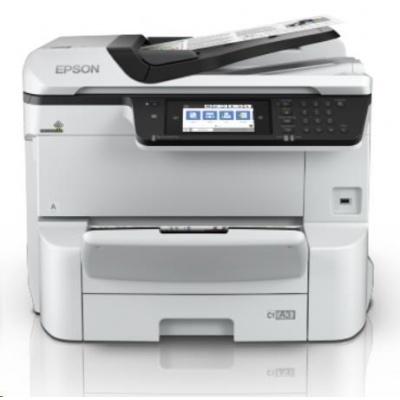 EPSON tiskárna ink WorkForce Pro WF-C8690DWF, 4v1, A3, 35ppm, Ethernet, WiFi (Direct), Duplex, 3 roky OSS po registraci