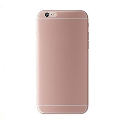 3mk ochranný kryt NaturalCase pro Apple iPhone 6, 6s, transparentní růžovo-zlatá