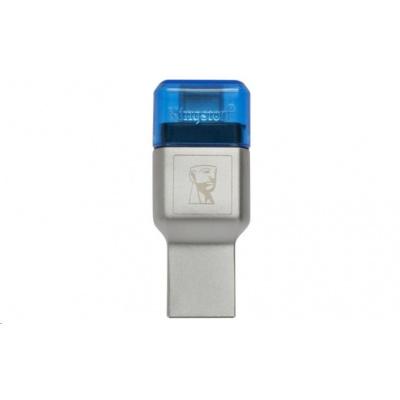 Kingston MobileLite 3C UCB-C + USB 3.0 microSD card reader