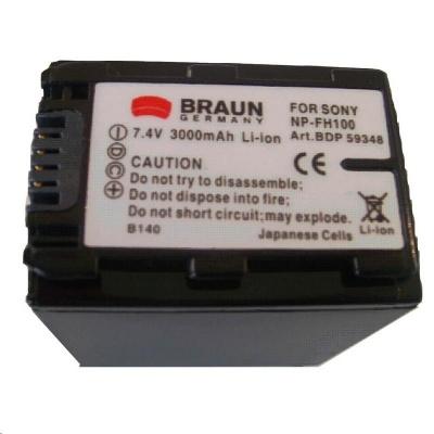 Braun akumulátor SONY NP-FH90, FH100, 3000mAh