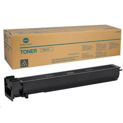 Minolta Toner TN-711K, černý do bizhub C654(e), C754(e), PRO C754e (47.2k)