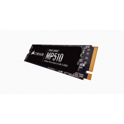 CORSAIR SSD 480GB Force MP510 (R:3480, W:2000 MB/s), M.2 2280 NVMe PCIe, černá